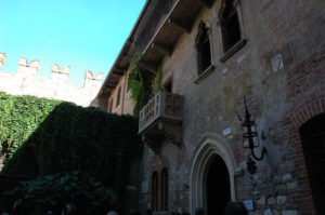 Juliette's Balcony, Verona